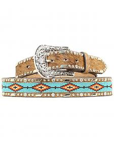 Ariat Beaded Ribbon Inlay Belt