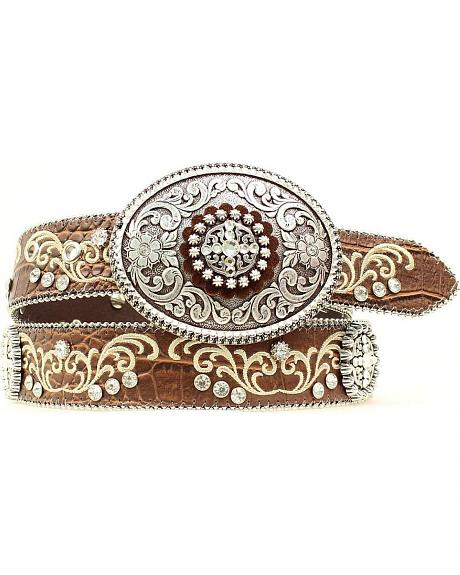 Ariat Embroidered Oval Belt