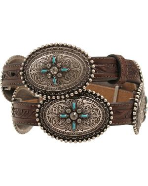 Ariat Oval Concho Belt