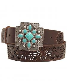 Ariat Aztec Cross Buckle Belt