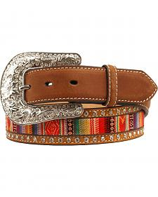 Nocona Aztec Ribbon Inaly Belt