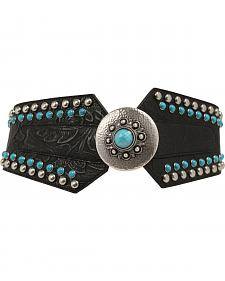 Nocona Women's Wide Concho Belt