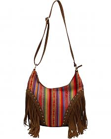 Blazin Roxx Blanket Fringe Shoulder Bag