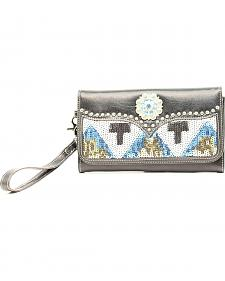 Blazin Roxx Sequin Chevron Clutch