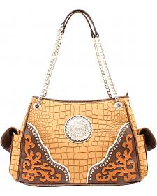 Blazin Roxx Large Concho Shoulder Bag