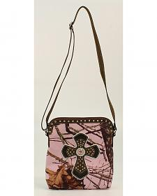 Blazin Roxx Camo & Cross Crossbody Bag