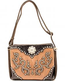 Blazin Roxx Small Scroll Overlay Shoulder Bag