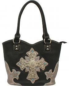 Blazin Roxx Boot Top Cross Tote Bag