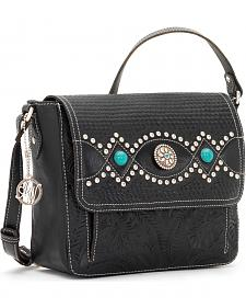 American West Women's Love Me Tender Crossbody Flap-Top Bag