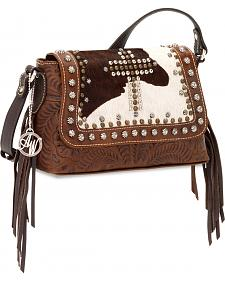 American West Women's Home on the Range Crossbody Bag