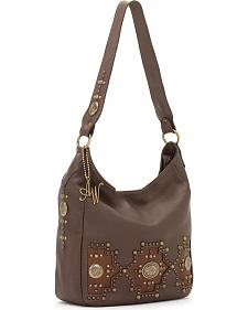 American West Women's Dream Catcher Zip-Top Handbag