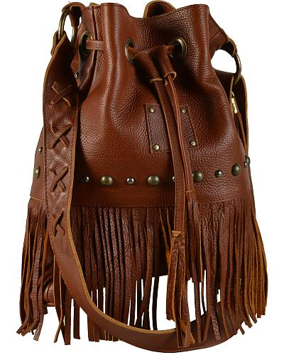 """STS Ranchwear """"The Free Spirit"""" Bucket Bag Western & Country STS31607"""
