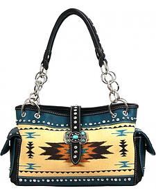 Montana West Aztec Concho Handbag