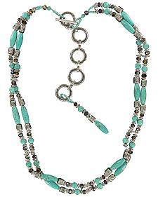 Ariat Beaded Turquoise Chain Belt