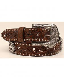 "Ariat 1 1/2"" Embossed Concho Belt"