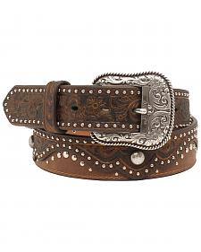 "Ariat 1 1/2"" Embossed Nailhead Belt"