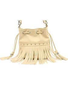 Blazin Roxx Fringe Bucket Bag