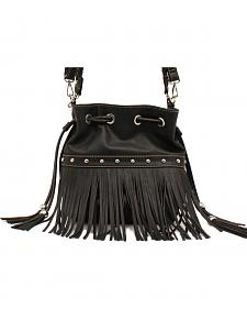Blazin Roxx Fringe Bucket Bag