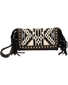 Blazin Roxx Aztec Fringe Clutch Wallet