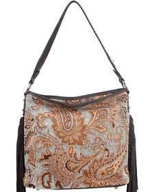 Montana West Western Aztec Collection Turquoise Handbag
