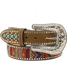 Blazin Roxx Multicolored Turquoise Stone Belt