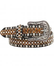 Ariat Women's Circle Concho and Rhinestone Belt