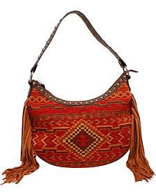 Blazin Roxx Women's Indian Blanket Shoulder Bag
