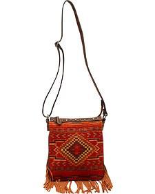 Blazin Roxx Women's Indian Blanket Messenger Bag