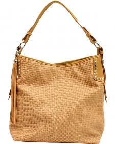 Blazin Roxx Women's Basketweave Shoulder Bag