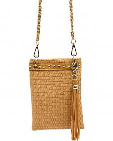 Blazin Roxx Basketweave Crossbody Bag