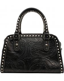 Blazin Roxx Floral Tooled Shoulder Bag