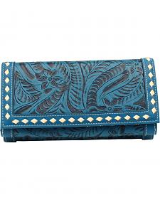 Blazin Roxx Women's Floral Tooled Wallet