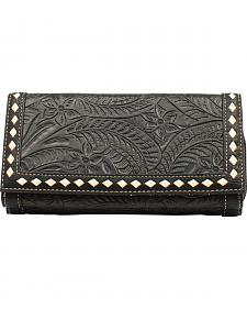 Blazin Roxx Women's Floral Tooled Wallet