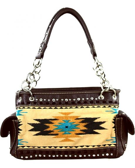 Montana West Aztec Collection Concealed Carry Handbag