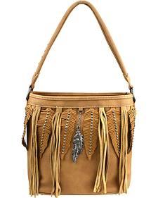 Montana West Western Fringe Collection Handbag