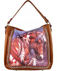 Montana West Laurie Prindle Collection Painted Pony Concealed Carry Bag
