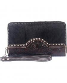 Montana West Trinity Ranch Tooled Wristlet