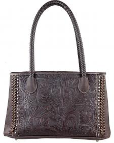 Trinity Ranch Montana West Women's Embossed Double Handled Handbag