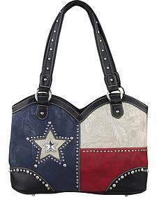 Montana West Women's Texas Boot Top Double Handled Handbag