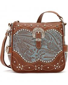 "American West Annie's Secret Collection ""Secret Compartment"" Crossbody Bag"