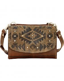 American West Mystic Shadow Small Crossbody Wallet Bag
