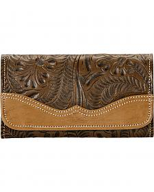 American West Annie's Secret Collection Tri-Fold Wallet