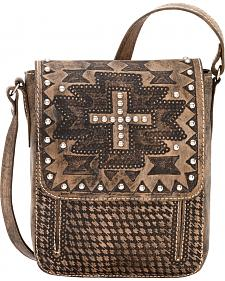 American West Apache Collection Crossbody Flap Bag