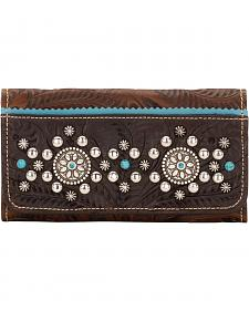 American West Hayloft Collection Tri-Fold Wallet