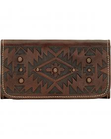American West Mystic Shadow Tri-Fold Wallet