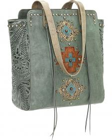 American West Navajo Soul Zip Top Tote