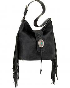 American West Seminole Collection Soft Shoulder Hobo Bag