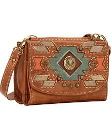 American West Zuni Passage Small Crossbody Bag/Wallet