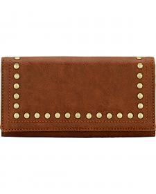 Bandana by American West Signature Chestnut Flap Wallet