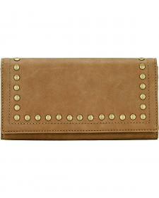 Bandana by American West Signature Tan Flap Wallet
